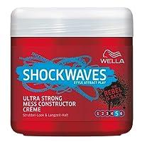 Wella Shockwaves Power Mess Constructor Ultra Strong, 3er Pack (3 x 150 ml)