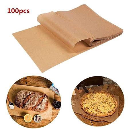 Papel de cocción Parchemin, 100 hojas de papel de horno de ...