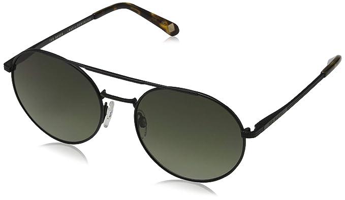 Ted Baker Warner Gafas de sol, Negro (Black/Green), 54.0 ...