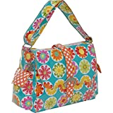 Kalencom Laminated Buckle Bag, Big Daisy