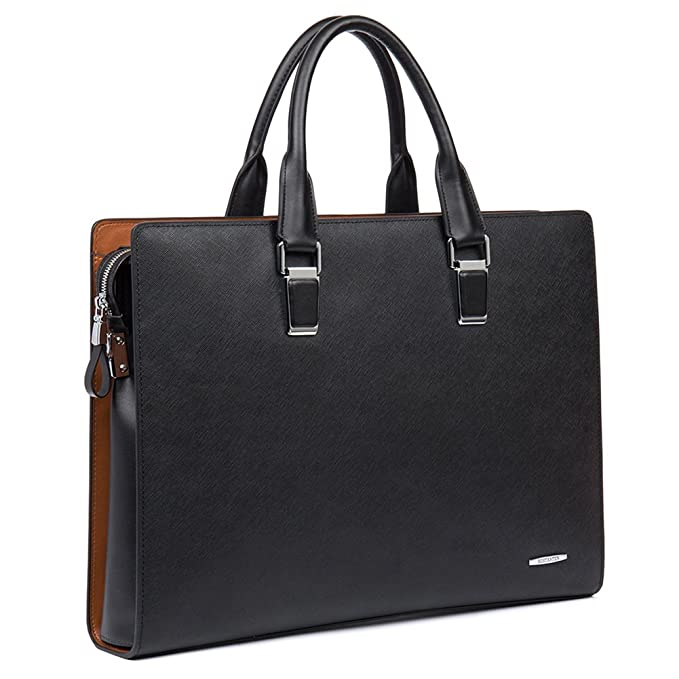 Review BOSTANTEN Formal Leather Briefcase