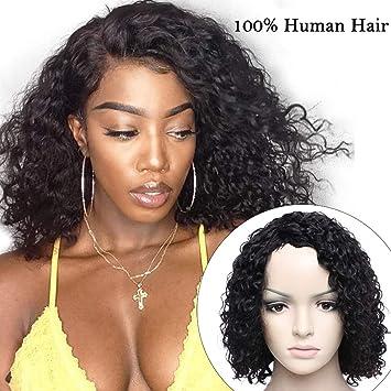 parrucche capelli veri ricci