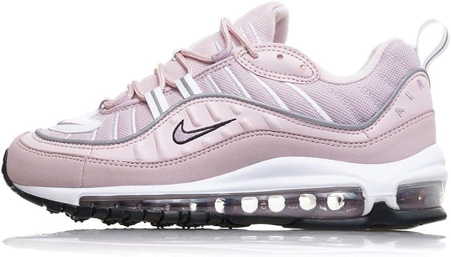 Nike Schuhe Frau Turnschuhe AIR MAX 98 in rosa Stoff AH6799
