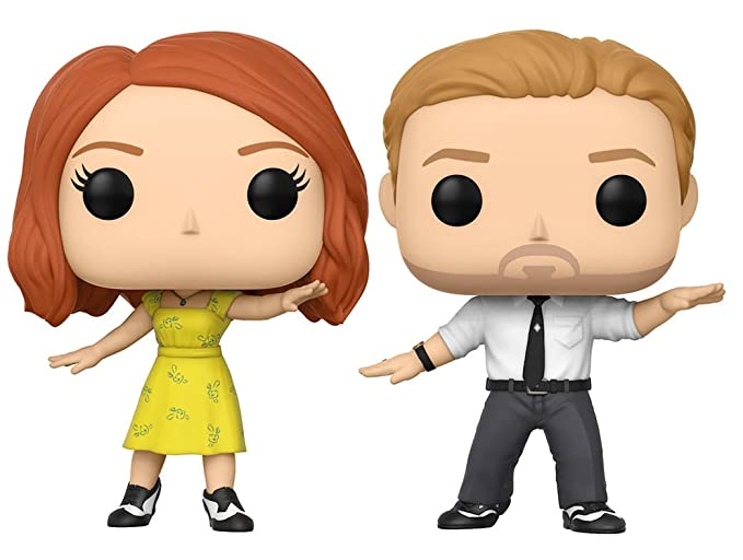 Funko Pop Movies: La Land - Sebastian & Mia 2 Pack Collectible Vinyl Figure