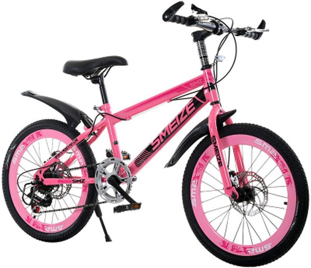Kinder Off-Road Single-Speed Mountainbike Doppelscheibenbremse Fahrrad 20//22 Zoll High Carbon Stahl M/änner Und Frauen Mountainbike,A,20inch JH Kinder Fahrrad