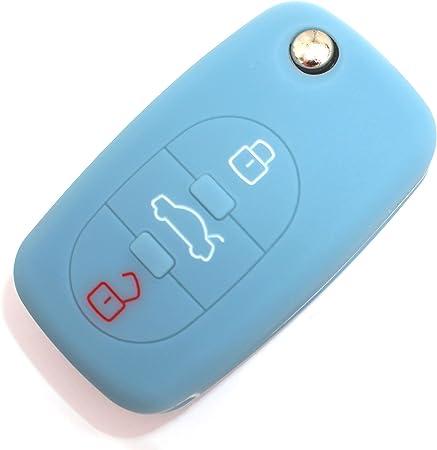 Schlüssel Hülle Aa Für 3 Tasten Auto Schlüssel Silikon Elektronik