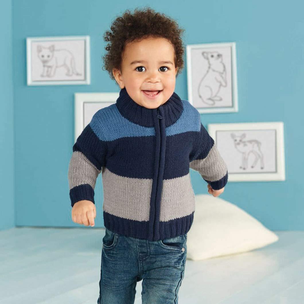 lupilu/® Baby Jungen Strickjacke mit weichem w/ärmendem Teddyfutter