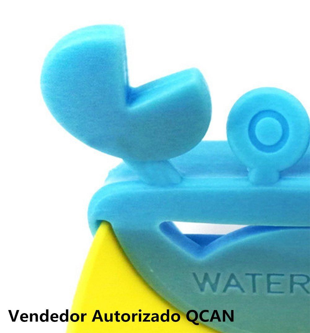 Cdet Grifo del fregadero ni/ños se laven las manos de cangrejo modelos de extensi/ón dibujos animados grifo Azul