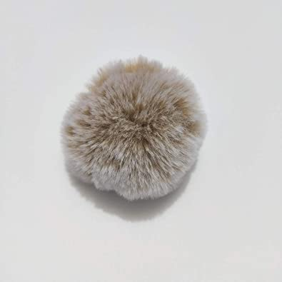 Amazon.com: BATOP Fluffy Raccoon Fur Ball Real Fox Fur Fur ...