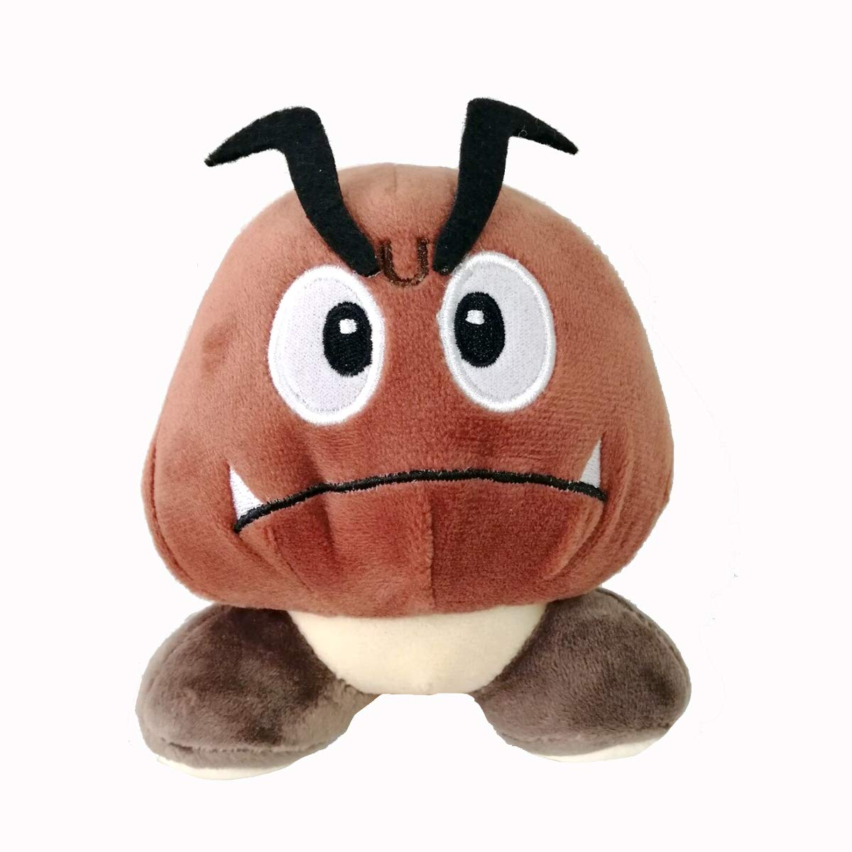Brown Goomba Plush Stuffed Toy Animal Mushroom Doll Xmas Gift