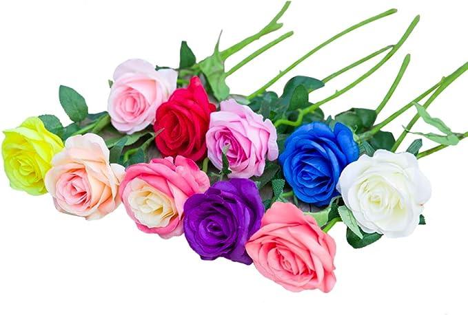 D/ía de San Valent/ín y Ambiente Rom/ántico Mitening 3500 Pcs P/étalos de Rosa P/étalos de Rosa en Seda Artificiales Rojo para Bodas Confeti Rosa Fiestas