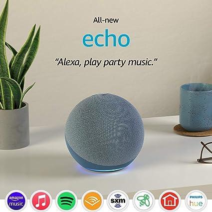 Análisis altavoz Amazon Echo 4ta Generación