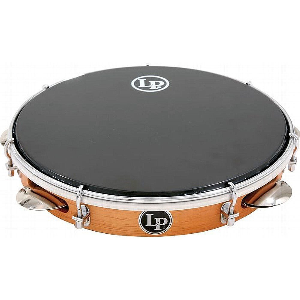 Latin Percussion LP3012 LP Brazilian Wood Pandeiro with Synthetic Head by Latin Percussion