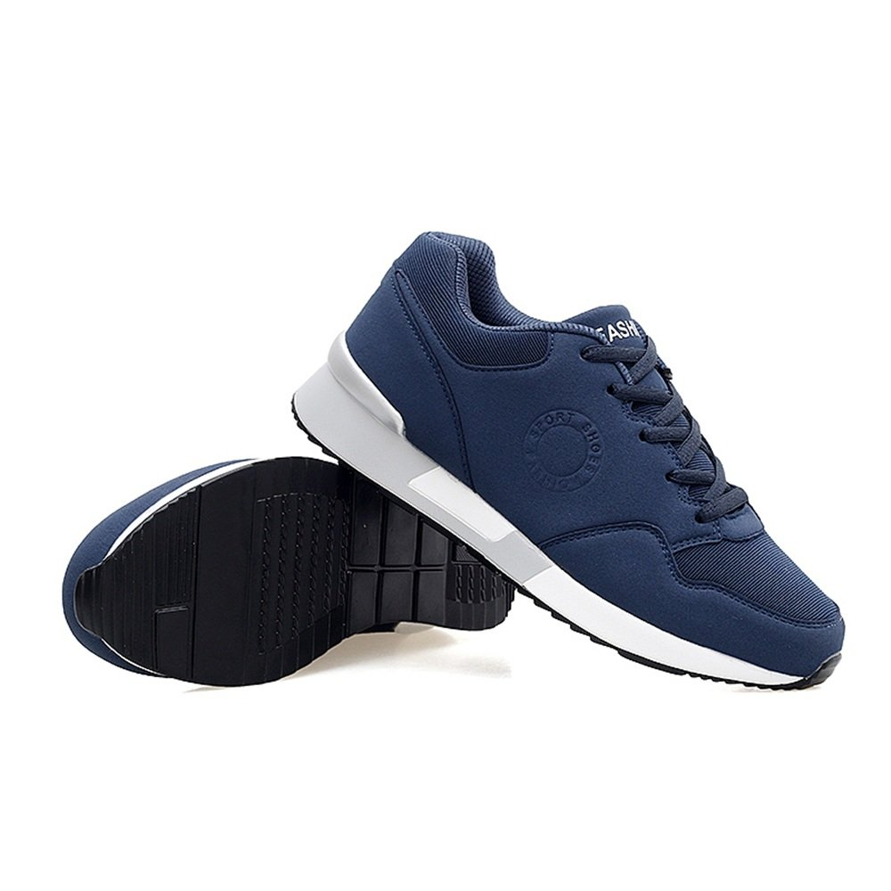 Menshoes Mens and Womens Athletic Sneakers Casual Thick Bottom Muffin High Skid Running Sneaker Comfortable