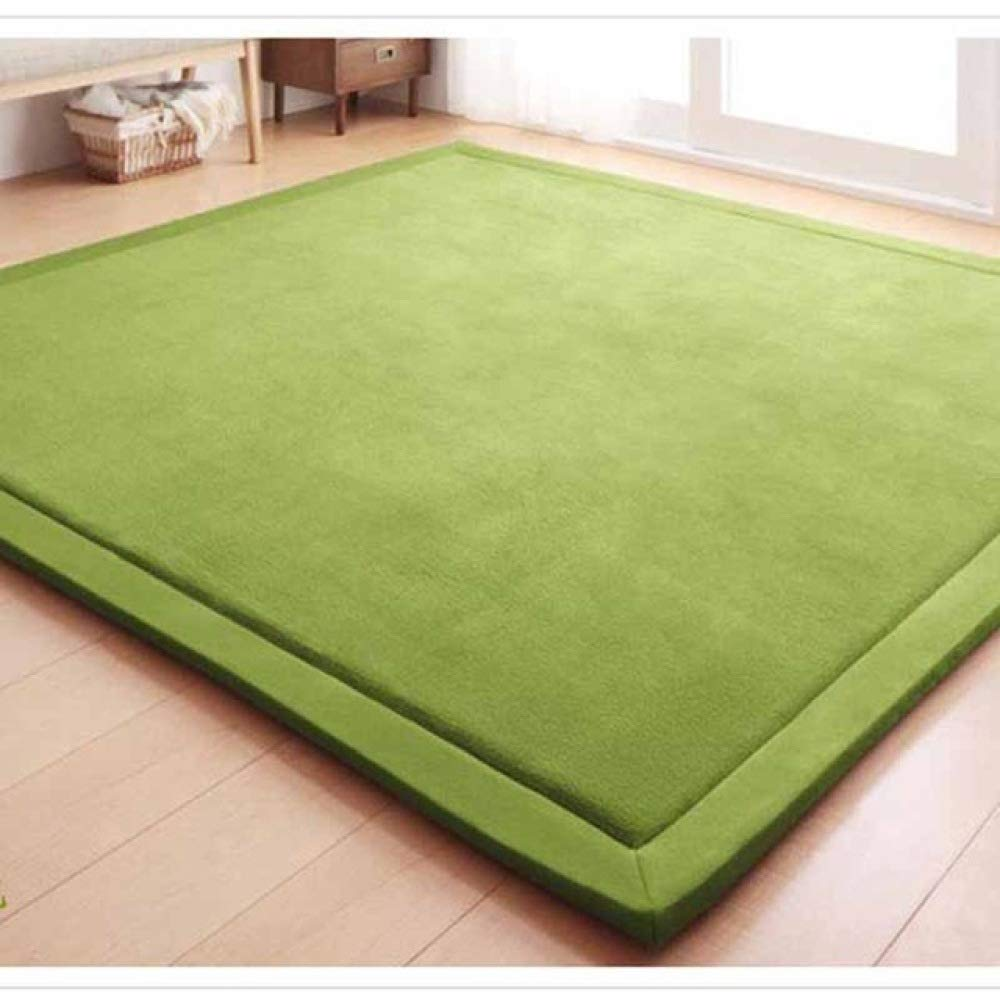 FENGDONG Mats Large Carpets Thickened Bedroom Playmat Home Lving Room Rug Floor Color 08 120x200cm by FENGDONG