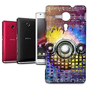 Phone Case For Sony Xperia SP M35H - Music DJ Trance Designer Hardshell