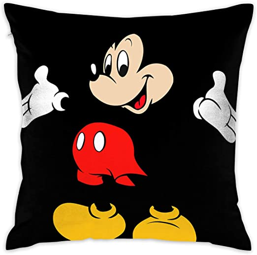 OABGOED Pillowcase Mickey Mouse Cartoons Decorative 20x30 Inches Standard Pillow Covers