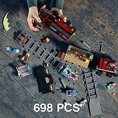 LEGO Hidden Side Ghost Train Express 70424 Building Kit, Train Toy for 8+ Year Old Boys and Girls, Interactive Augmented Reality Playset (698 Pieces): Toys & Games