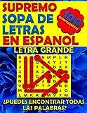 Supremo Sopa de Letras en Espanol Letra