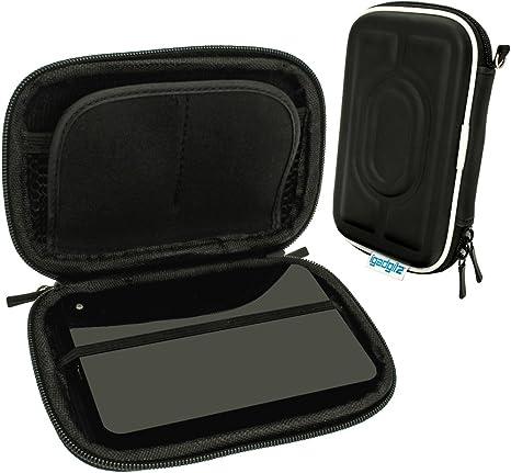 iGadgitz U3744 EVA Estuche rígido de viaje compatible con discos duros externos portátiles LaCie Porsche Design (varios modelos) - Negro: Amazon.es: Informática