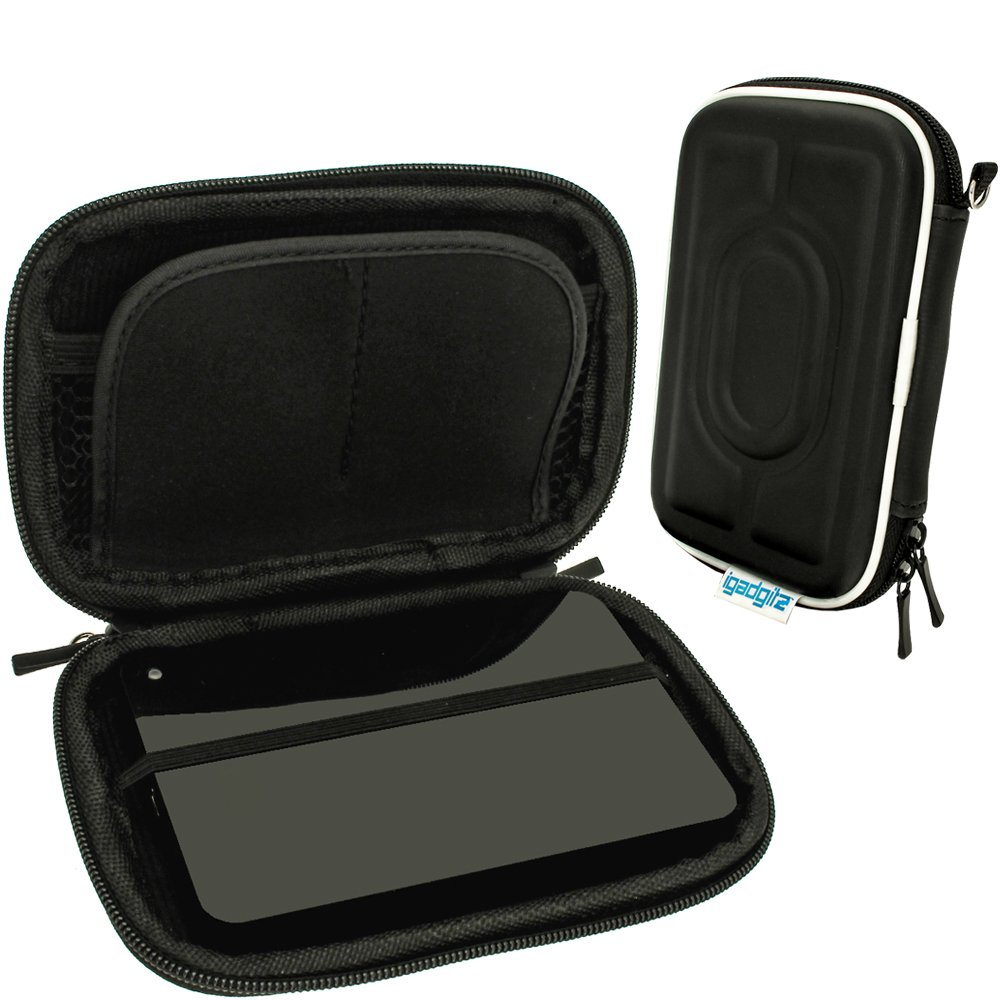 Igadgitz Black Eva Hard Travel Case Cover For Seagate Expansion External 1tb 500gb 2tb Portable Drives Computers Accessories