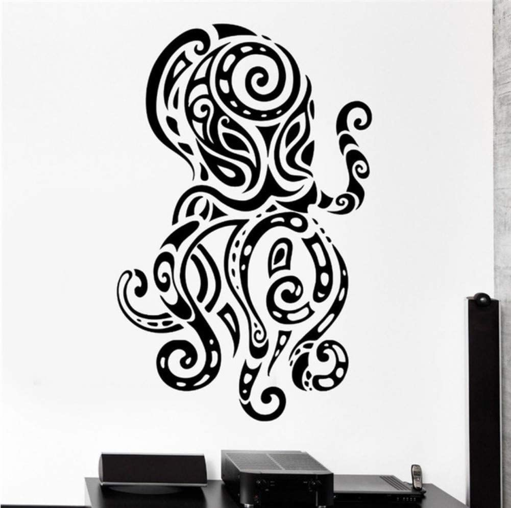 Zfkdsd Creativo Pulpo Tatuajes De Pared Océano Mar Ornamento ...