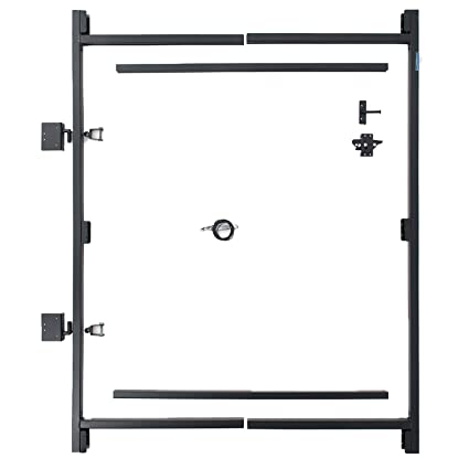Fence Walk Through Gate Kit Adjust A Gate Steel Frame No Sag Gate