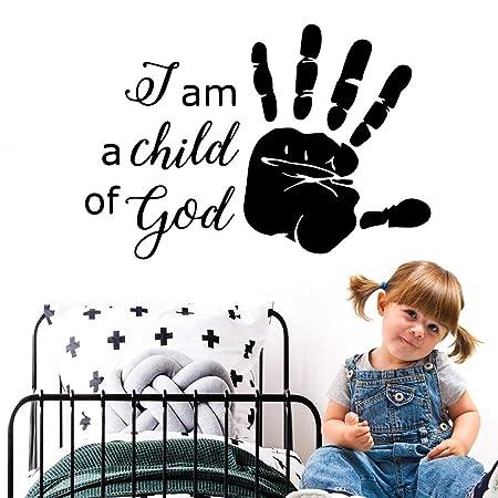 wukongsun Calcomanía del niño de Dios Mural de Vinilo ...