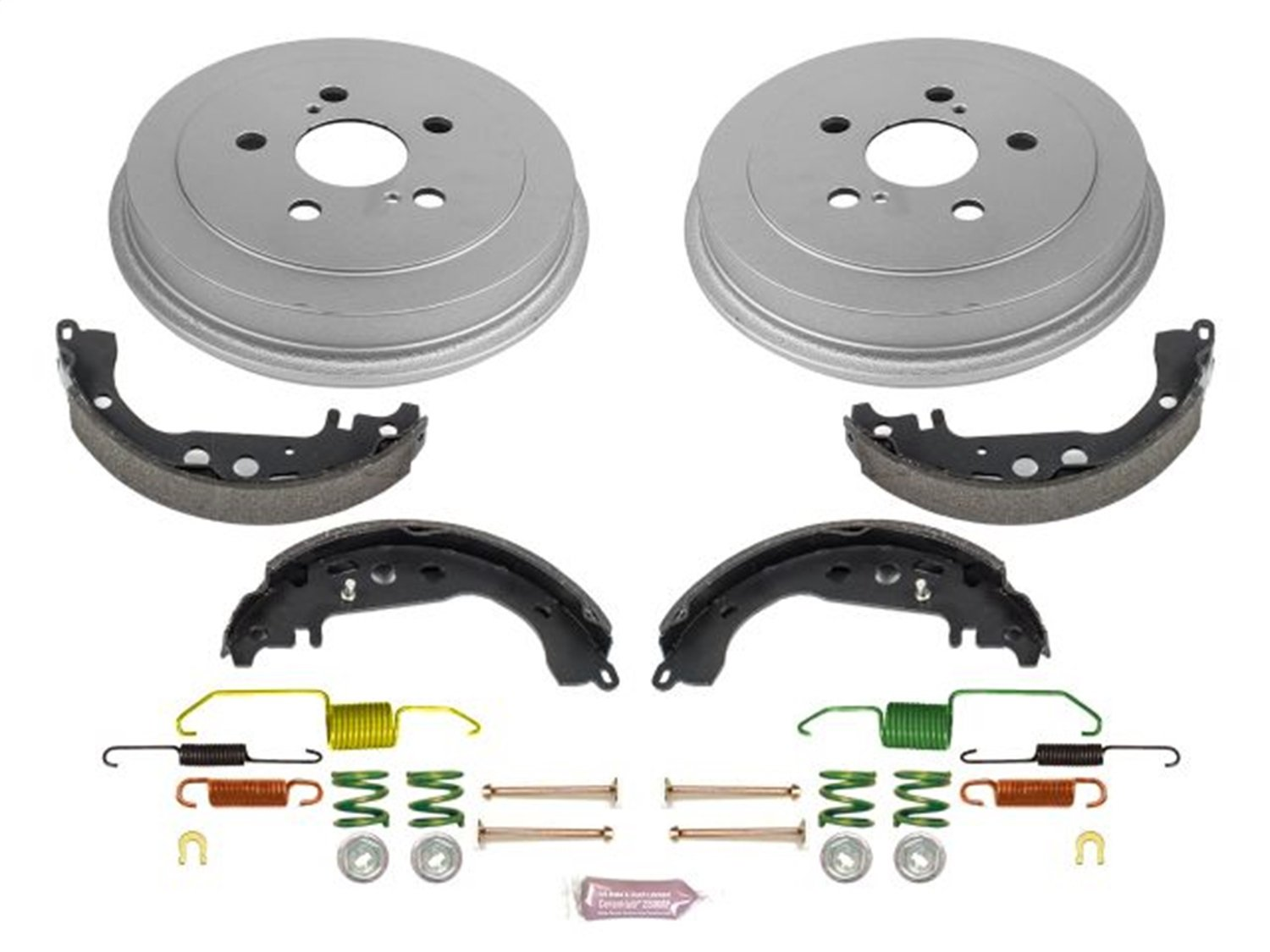 Power Stop KOE15366DK Daily Driver Drum and Shoe Kit (Rear)