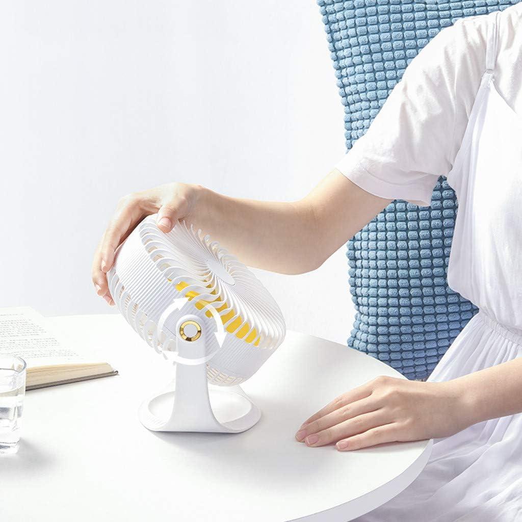 Mini Ventilador de Mano, JiaMeng Escritorio portátil Personal Cochecito Ventilador de Mesa Ventilador eléctrico de enfriamiento Pequeño Ventilador Eléctrico con ...