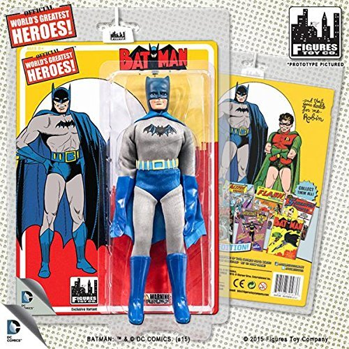 DC Comics Retro First Appearances Series 1 Batman Action Figure by Figures Toy Company
