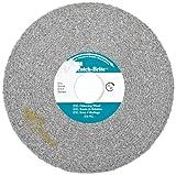 Scotch-Brite(TM) EXL Deburring Wheel, Silicon Carbide,6000 rpm, 6 Diameter, 1 Arbor, 8S Fine Grit  (Pack of 4)