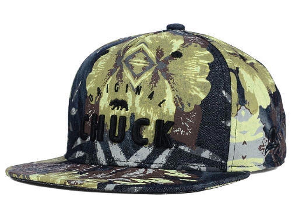 Amazon.com  Original Chuck Chil Brah Chuck Camo Flat Brim Snapback Hat Cap  OSFA  Clothing e0d6a2bbba7
