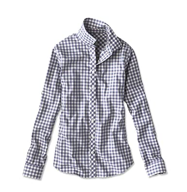 581c98f5 Orvis Wrinkle-Free Checked Cotton-Twill Shirt at Amazon Women's ...