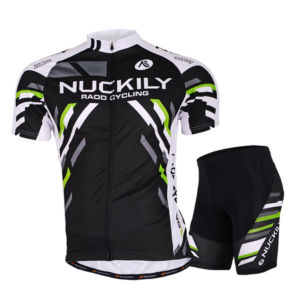 DeLamode Men Mountain Bike Sport Suit Riding Bicycle T Shirt Cool Pant+Shirt 004-M