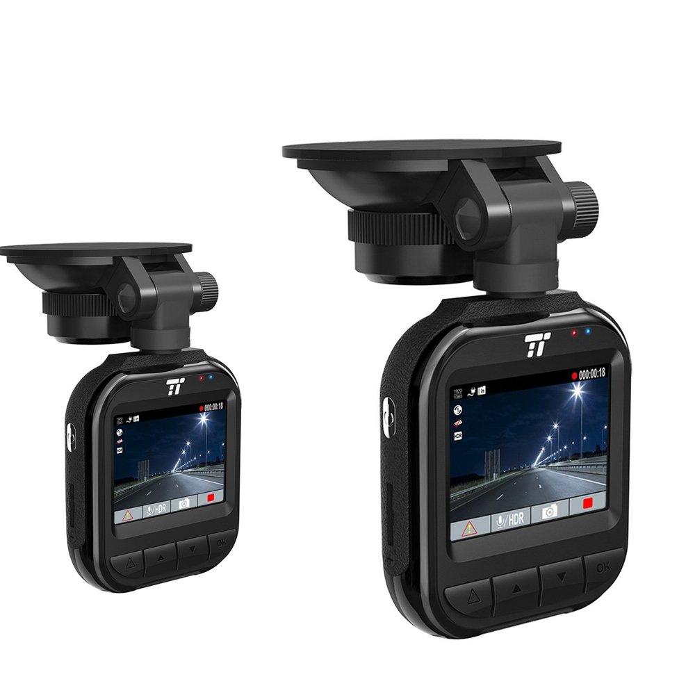 TaoTronics Car DVR Dash Cam 2K/30fps - 2 Pack