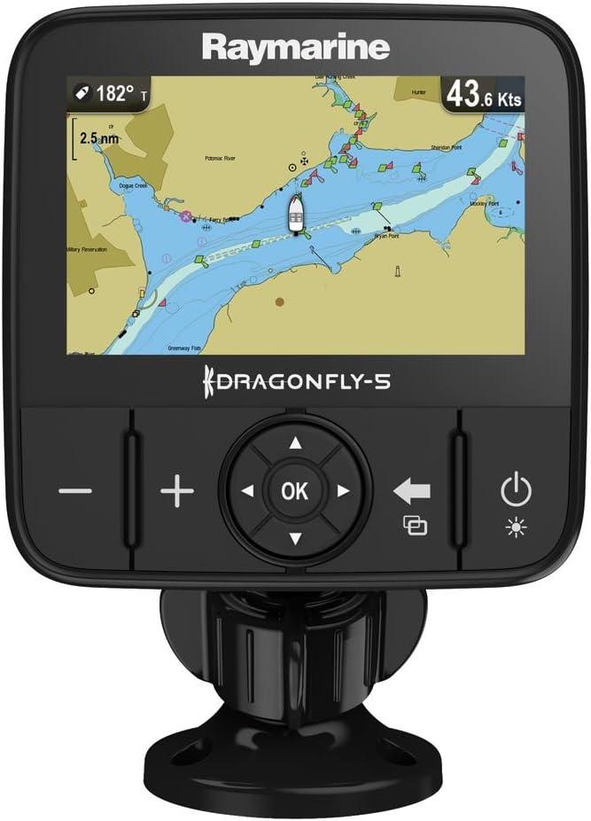 Plotter Raymarine E70295-Nag Libélula GPS (5 M, 12,7 Cm (5 ...