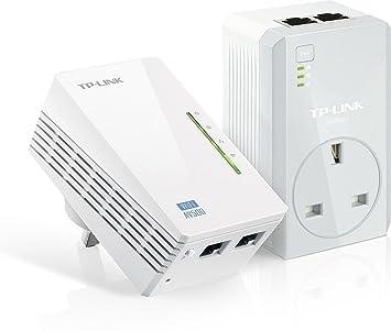 TP-LINK TL-WPA4226KIT - Extensor de cobertura y punto de acceso Powerline AV500 con AC Pass para Smartphones/Tabletas/Portátiles: Amazon.es: Informática