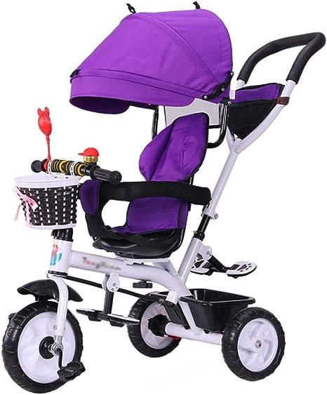 Bicicleta Trike para niños con triciclo triciclo 4 en 1 con arnés ...