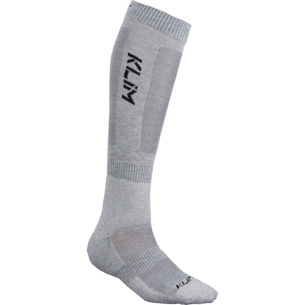 Klim Adult Vented Socks, Gray, Large