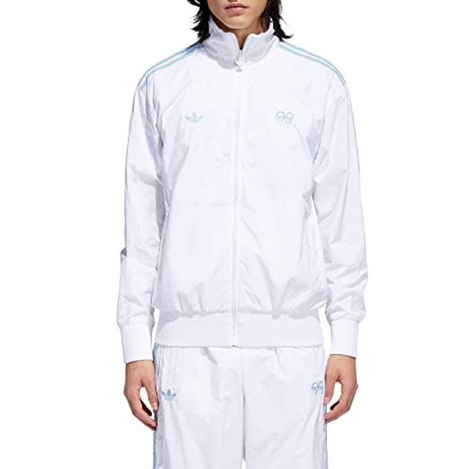 cc9d935a9eb Amazon.com  adidas x Krooked (White Clear Blue) Pullover  Sports ...