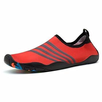ADLFJGL Strand Tauchen Schuhe Schuhe Für Männer Und Frauen Barfußschuhe Socken Strand Weichen Schuhen Laufband Schwimmen Schuhe Waten Upstream Schuhe A 44 / 45 Wasserschuhe bQa3z