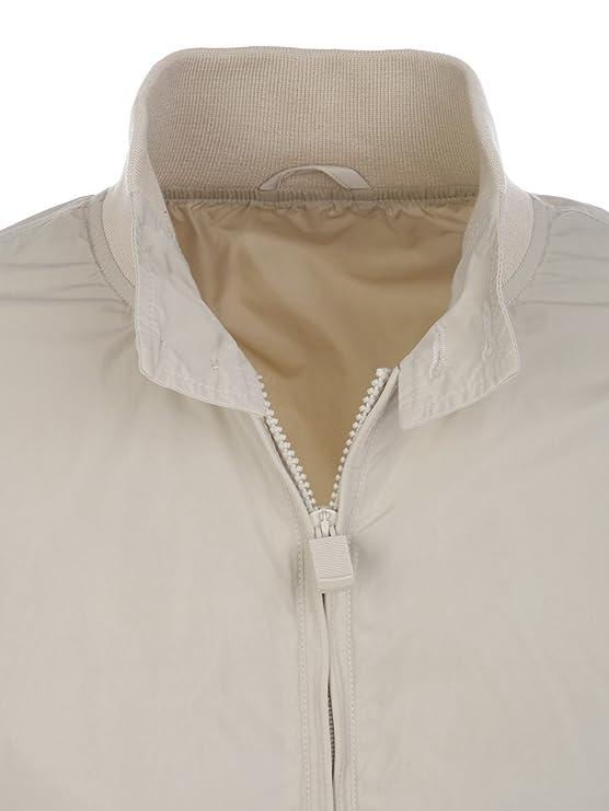 Polyester Homme Blanc I918b16685044 Aspesi Blouson 0t7q10w
