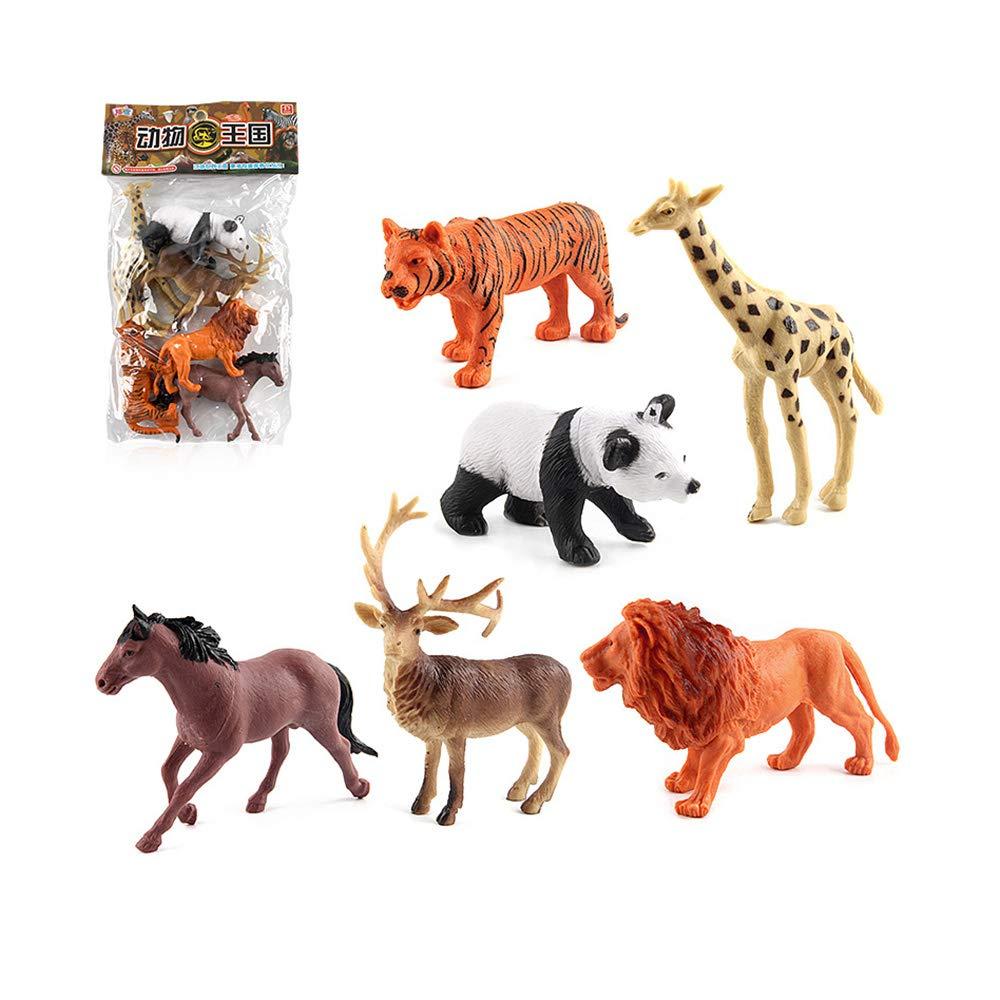 Sipobuy 12 unids simulaci/ón de pl/ástico de Animales Silvestres Figuras Modelo Educativo cognici/ón Juguete favores de Partido ni/ños