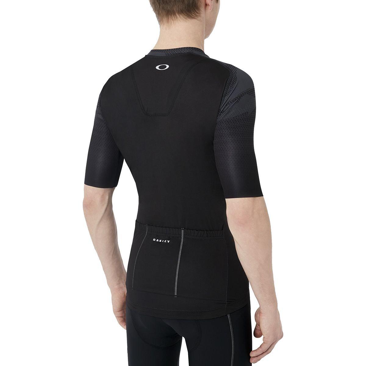 Oakley Men s Jawbreaker Road Cycling Jersey  Amazon.co.uk  Clothing bd70e9915