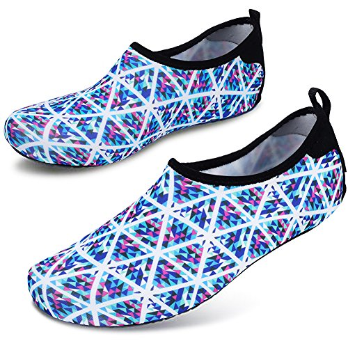 Barefoot Men's Dry Shoe Socks Summer Water Aqua Colorful Yoga Quick Geometry Kid Women's Joinfree Shoes AZxw5pYwq