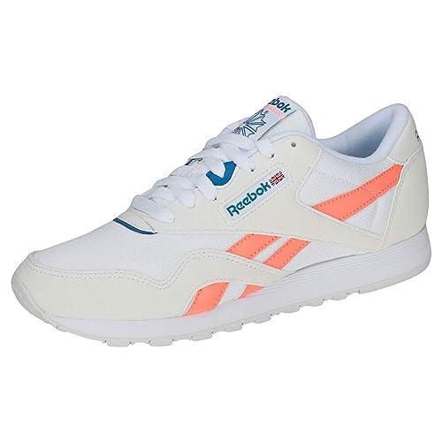 Reebok Cl Nylon M TXT, Zapatillas de Deporte para Mujer: Amazon.es: Zapatos y complementos
