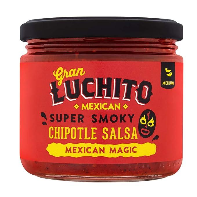Luchito, Salsa para taco - 3 de 300 gr. (Total 900 gr.