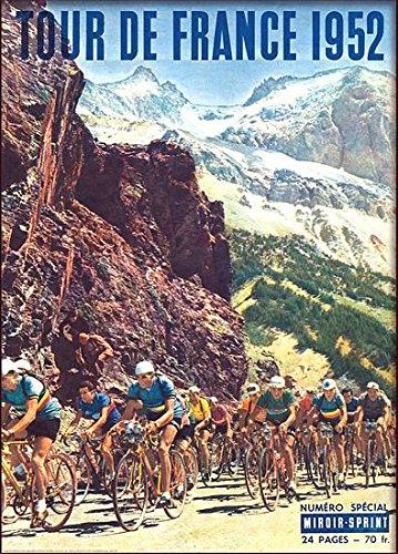 Poster Reproduction. vintage movie Wall art Tour de France 1952