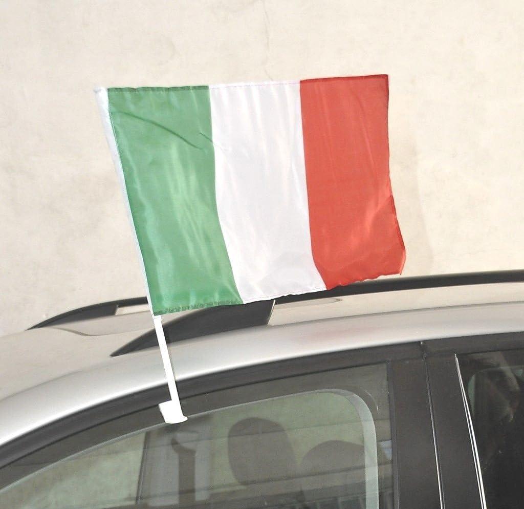 Auto Bandiera Auto Bandiera Italia 30x45 cm